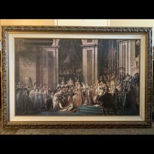 X-Large Rembrandt Painting 66 x 44 Custom Frame
